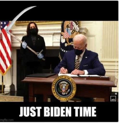 kamala harris grim reaper just biden time