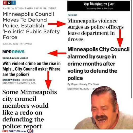 minneapolis defunding police news headline results