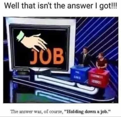 not answer i got hand job holding down game show