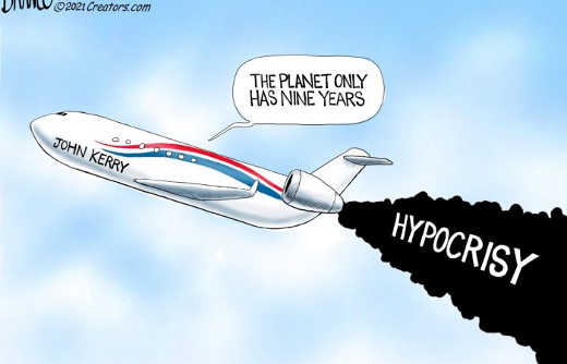 planet only has 9 years john kerry private jet hypocrisy