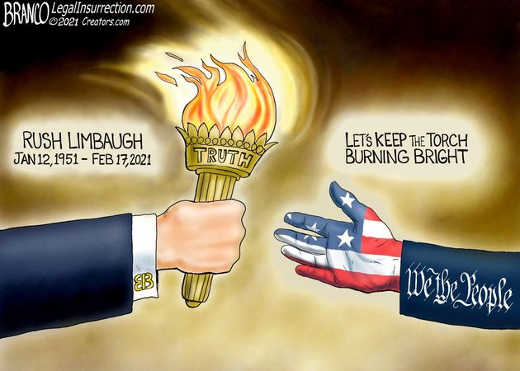 rush limbaugh passing torch we the people truth