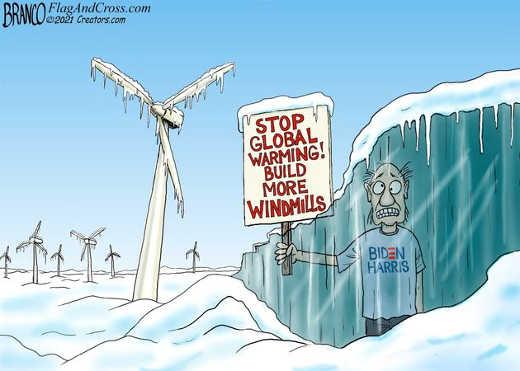 stop global warming build more windmills biden harris