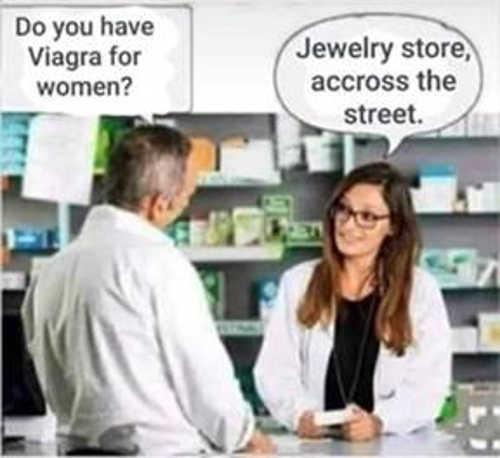 viagra for women pharmacist jewelry store across the street