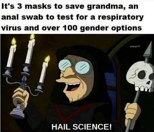 3 masks save grandma anal swap respirator virus 100 gender options hail science