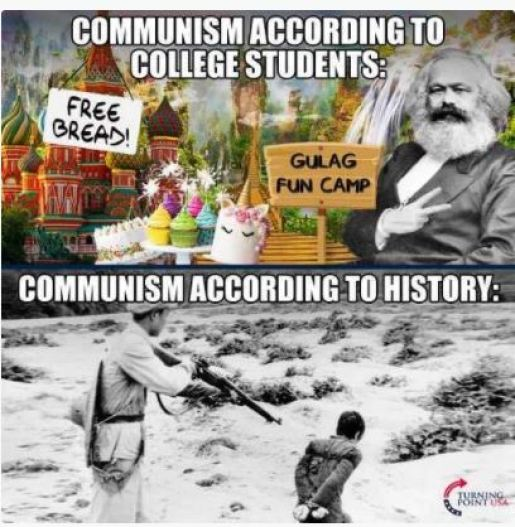 communism college students bread gulag history executions