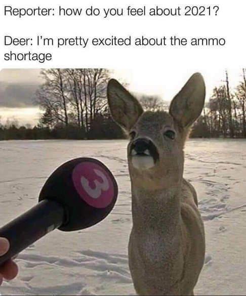 deer interview reporter 2021 ammo shortage