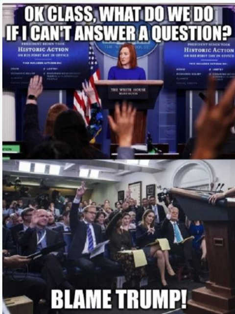 jen psaki media class what do cant answer question blame trump white house press