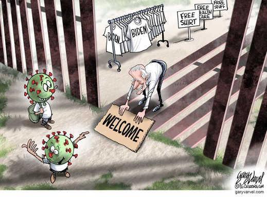 joe biden free health care shirt stuff welcome immigrants covid