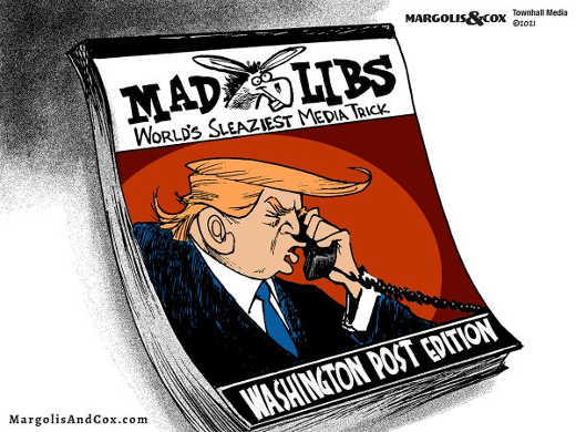 mad libs washington post sleazy media trick