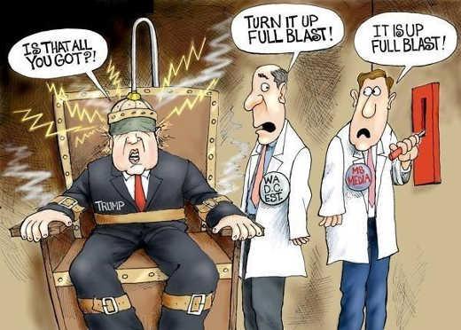 mainstream media dc establishment electric chair trump