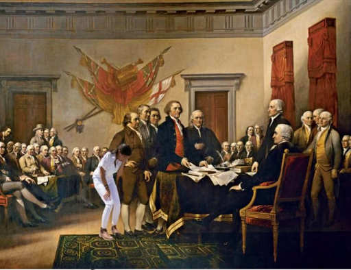aoc photo op crying us constitution signing