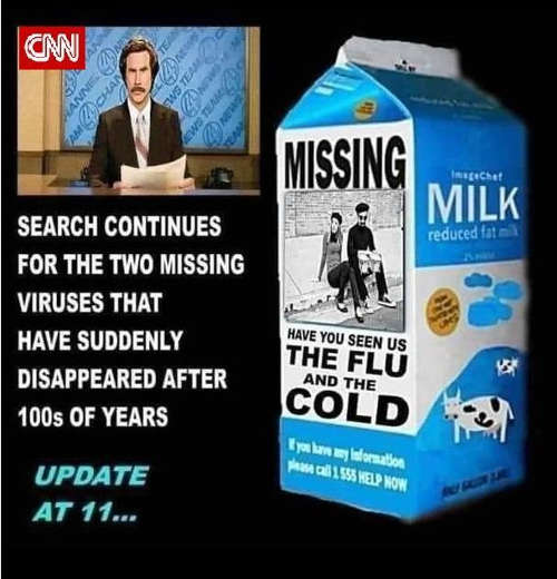 cnn milk carton search missing flu cold viruses since covid appeared