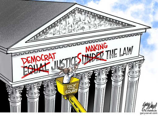 democrat justices making the law supreme court packing