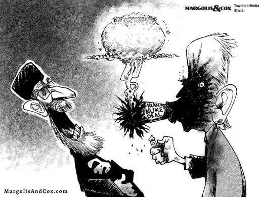 joe biden exploding cigar iran nuke deal