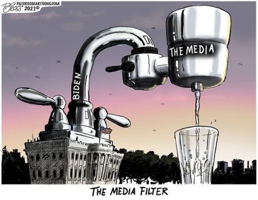 joe biden media faucet filter