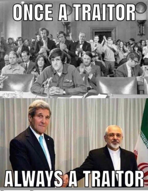 john kerry once a traitor always vietnam iran
