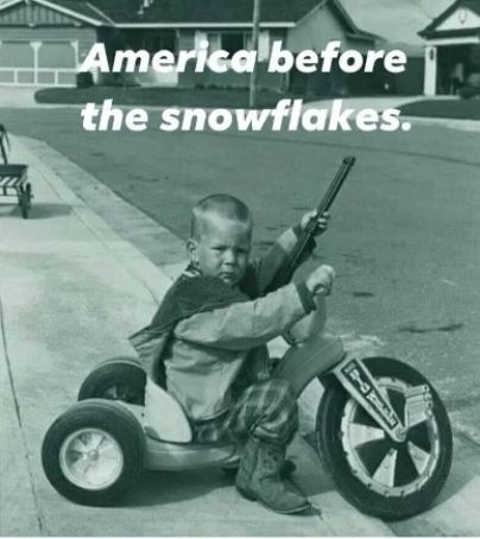 kid america before snowflakes big wheel bb gun