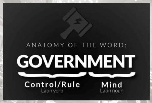 lesson anatomy of word government control rule mind