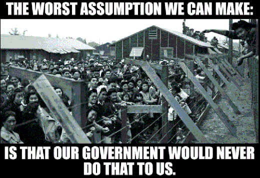 message worst assumption our government would never do that