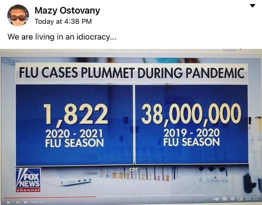 mewe pandemic flu cases idiocracy