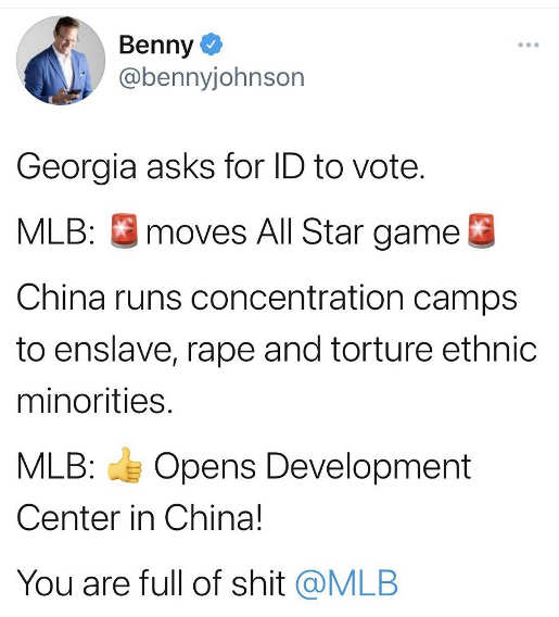 tweet been georgia mlb allstar game vs china