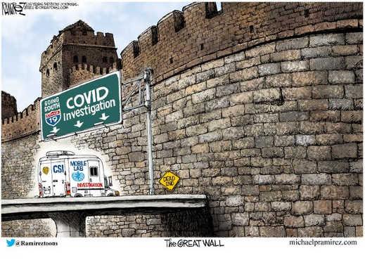 covid investigation csi great wall of china wuhan