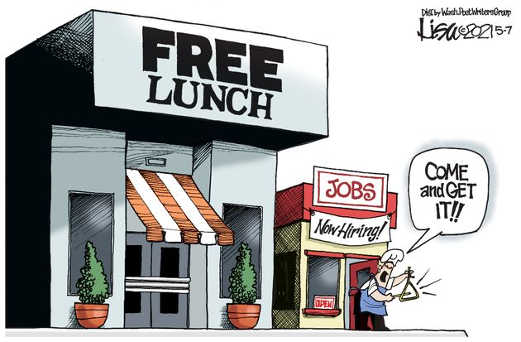 free lunch entrance jobs now hiring comparison
