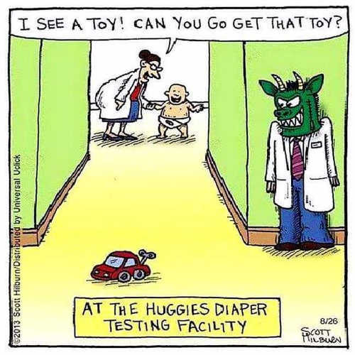 get toy huggies diaper testing facility monster