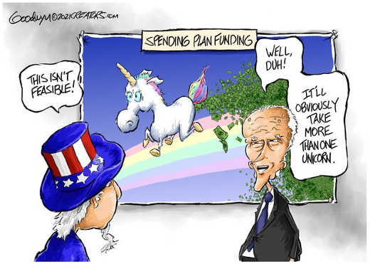 joe biden spending not feasible take more than one unicorn