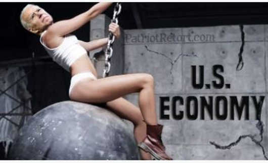 joe biden wrecking ball economy miley cyrus
