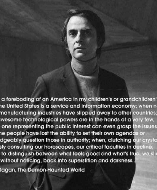 quote carl sagan demon haunted world america info economy tech few