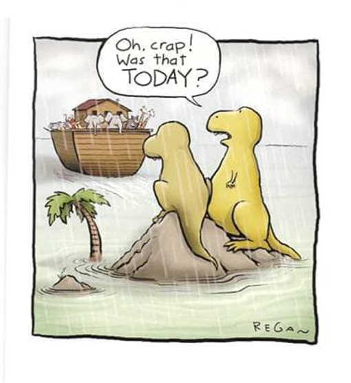 dinosaurs noahs ark today