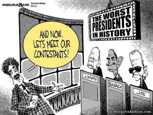 game show worst presidents in history jimmy carter barack obama joe biden