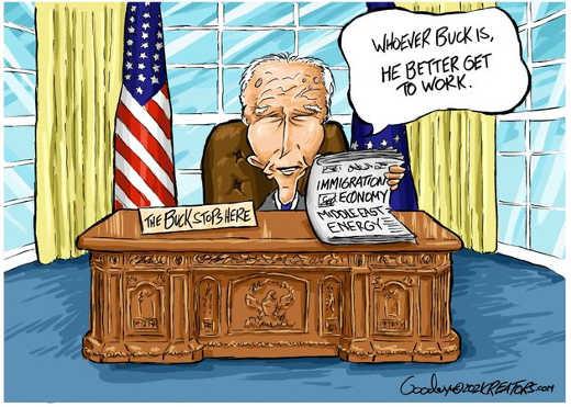 joe biden buck stops here immigration economy middle east better get to work