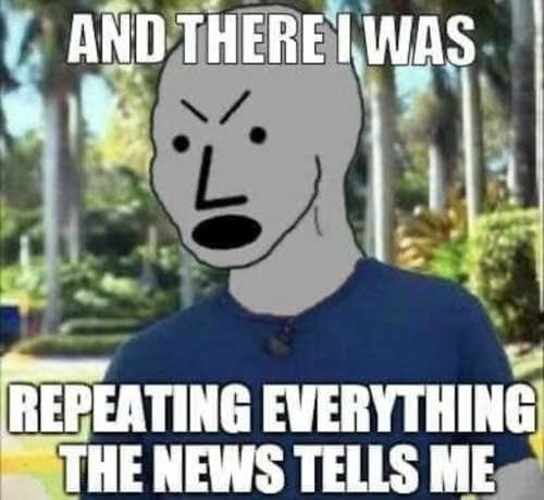 liberal there i was repeating everything news tells me