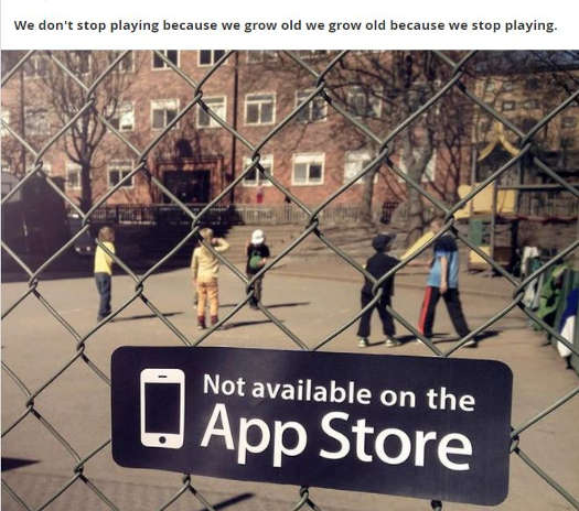 message old stop playing not available on app store playground
