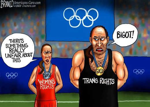 olympics womens trans rights bigot unfair