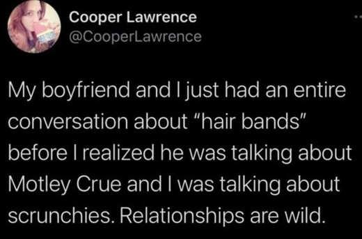 tweet lawrence boyfriend hair bands motley crue relationships
