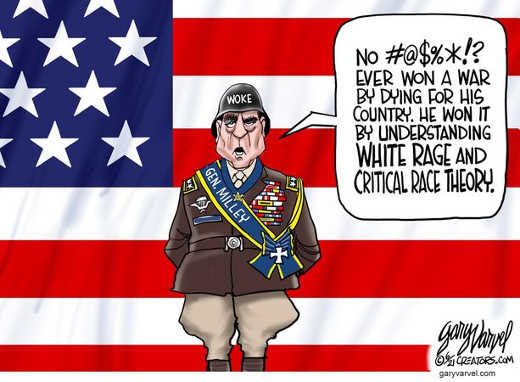 woke general milley no one won war dying for country won understanding white rage crc