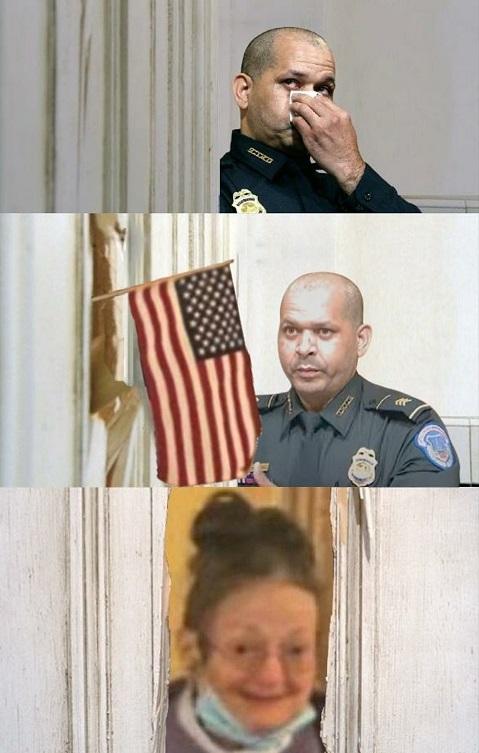 capitol police grandma january 6th crying