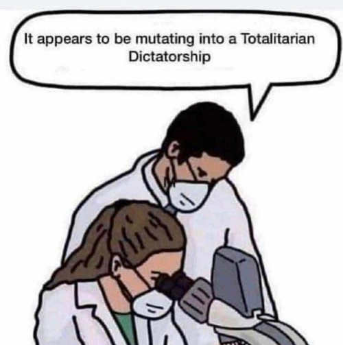 cdc scientists totalitarian dictatorship microscope