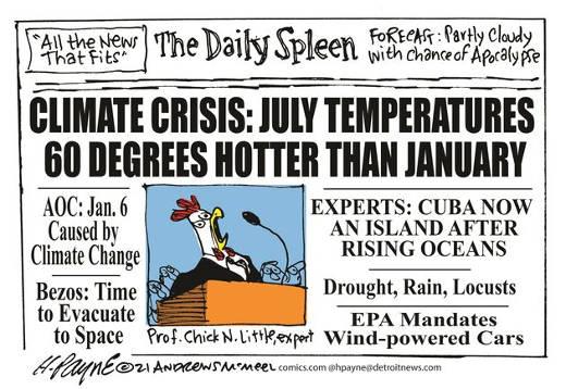 daily climate crisis aoc bezos cuba island experts