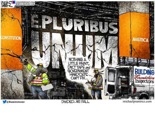 e pluribus unum democrats republicans duct tape govenernment handouts to fix