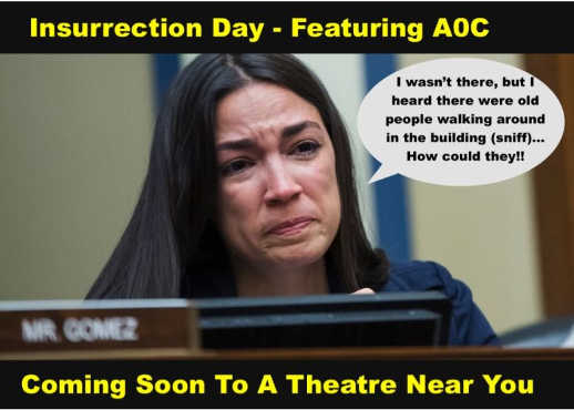 insurrection day starting aoc coming soon to a theatre near you