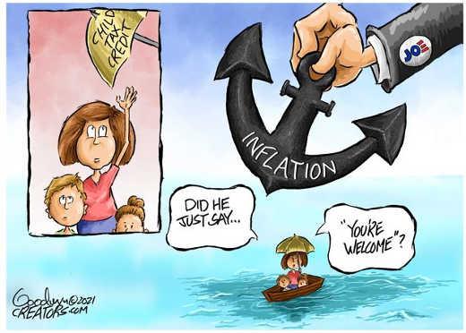 joe biden anchor inflation child tax credit