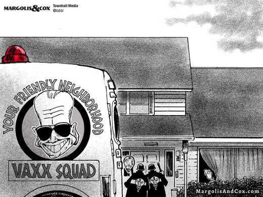 joe biden friendly neighborhood vaxx squad