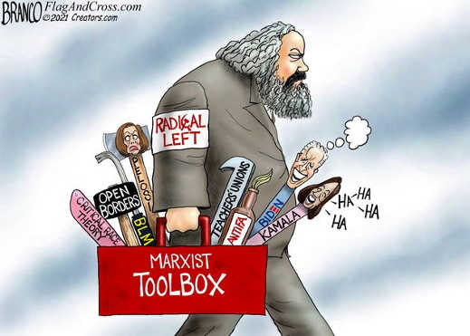 marxist toolbox radical left pelosi biden kamala crc teachers union