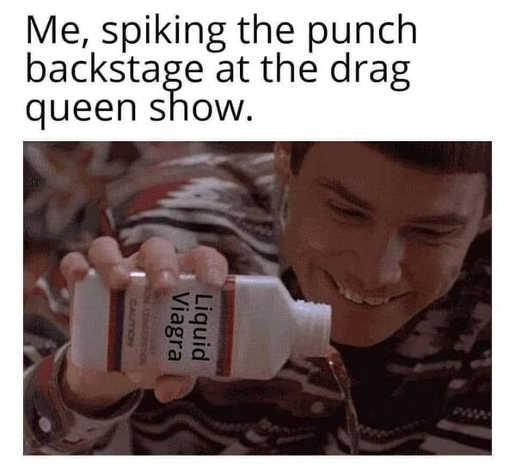 me spiking punch at drag queen show jim carrey dumb dumber