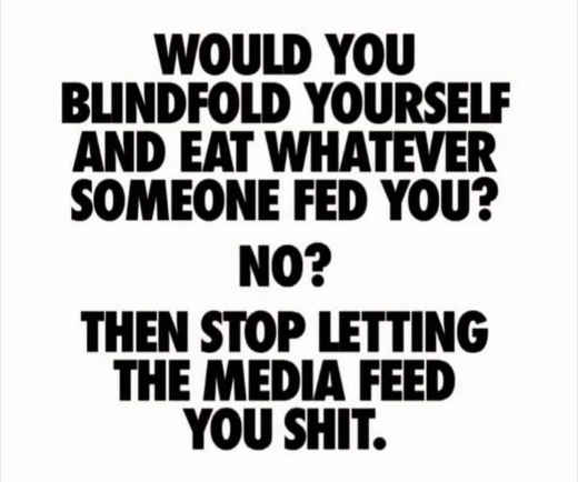 question let someone blindfold you feed anything stop letting media
