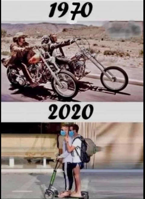 1970 riding motorcycles 2020 masks scooter
